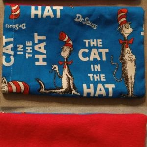 Dr Seuse Reusable Heated Pet Pillow Cat in the Hat